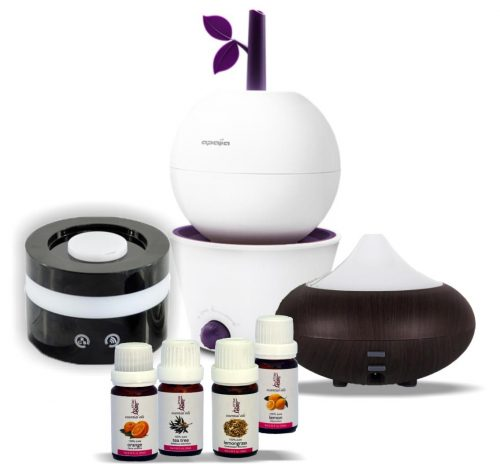 Aroma Diffusers & Essential Oils